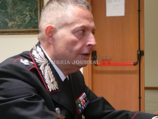 Carabinieri Assisi, il neo Maggiore Vetrulli ha incontrato i giornalisti [FOTO E VIDEO]