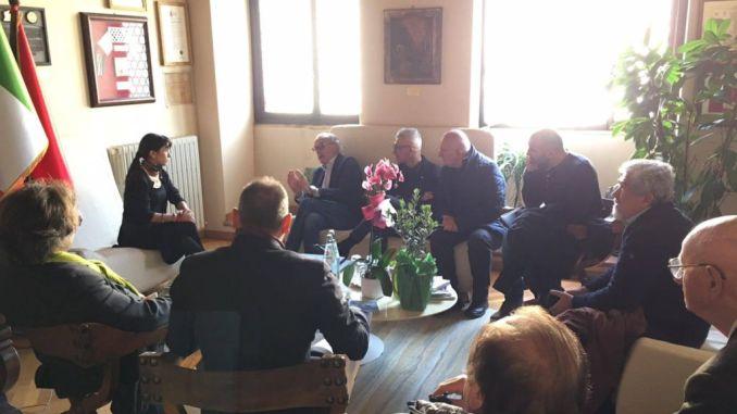 Post sisma, Importante fare squadra, incontro Ussita e Assisi