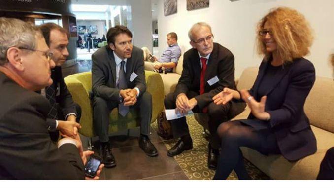Assisi sempre di più città europea e globale, meeting a Vilnius, in Lituania