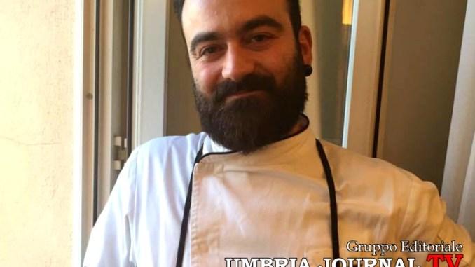 Lo chef Matteo Bini ha vinto il Premio Flaminio ad Assisi