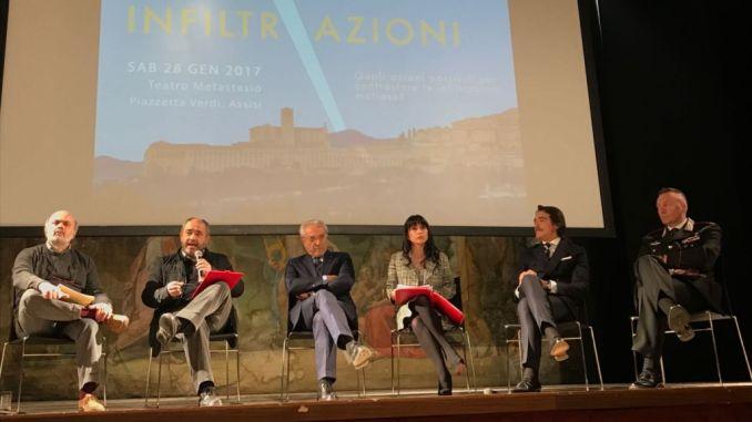 Al Teatro Metastasio Comune di Assisi e Libera insieme contro le infiltrazioni