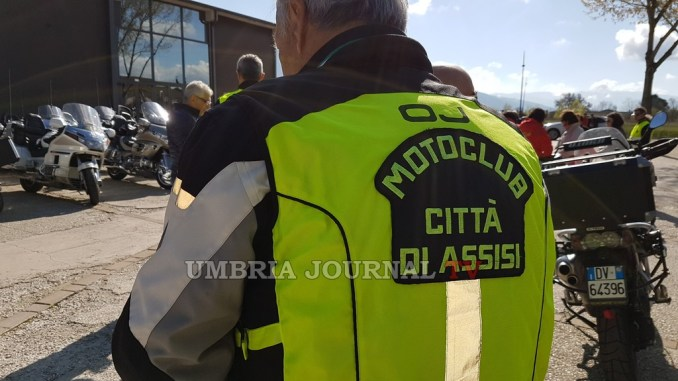 Motoraduno ad Assisi, due ruote dappertutto a Santa Maria Angeli