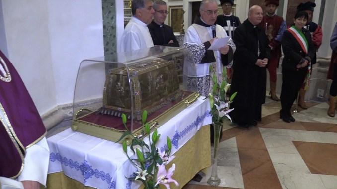 Le reliquie dei corpi dei santi Luigi e Zelia Martin alla Chiesa Nuova