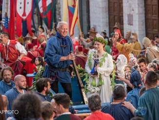 Calendimaggio Assisi, oggi sfida tamburini Sotto e Sopra