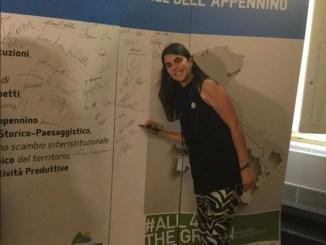 Appennino bike tour, Assisi al G7 ambiente, c'era Veronica Cavallucci