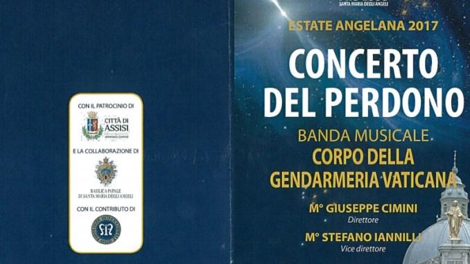 Festa del Perdono a Santa Maria degli Angeli, concerto 2 agosto