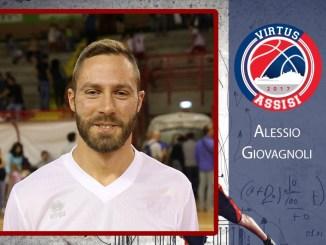 Basket, Alessio Giovagnoli nuovo Pivot della Virtus Assisi