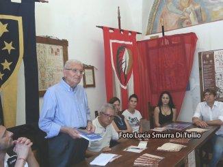 Palio di San Rufino opera di Franco Susta e dipinta da Anna Scatolini