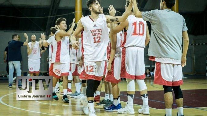 Virtus Assisi basket batte Fratta in esordio Coppa al PalaItis Assisi