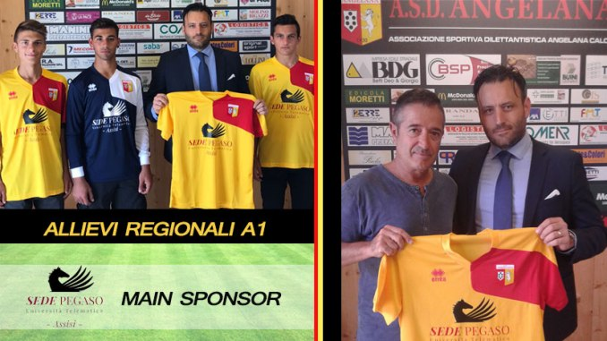 UniPegaso Sede Assisi main Sponsor Allievi Regionali A1 2017-2018