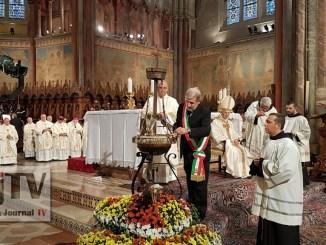 Festa San Francesco, cominciate le celebrazioni ad Assisi, presente premier Gentiloni