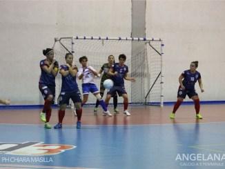 Calcio C5, che Angelana! A Fasano 3 a 1 contro la dona Style