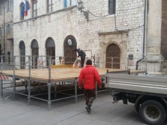Tutto pronto per festeggiare il Capodanno in piazza ad Assisi