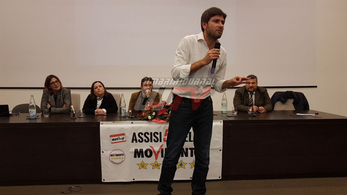 Politica, Di Battista e Quagliariello, sabato 21 ad Assisi per incontro su crisi europea