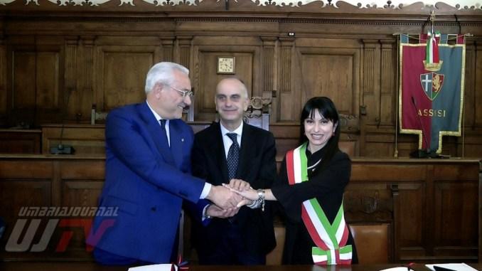 Firmato ad Assisi il Protocollo di Legalità, tra prefettura e comun