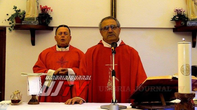 Premio Santo Stefano a Costa di Trex a padre Giuseppe Egizio ad Assisi