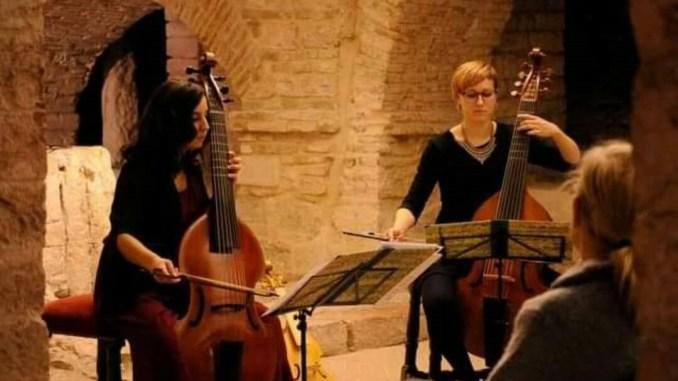 In passato era la viola, debutto assisano per due giovani musiciste