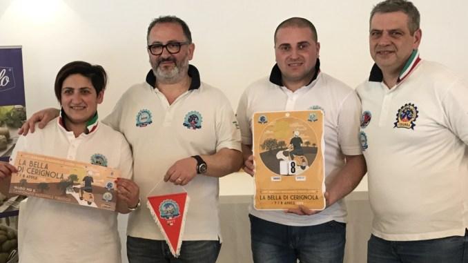 Fermate il Vespa Club Assisi, da Assisi in Puglia Raduno Nazionale