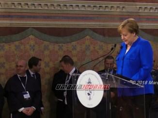 Merkel Assisi, Proietti, che la luce della Pace illumini il mondo