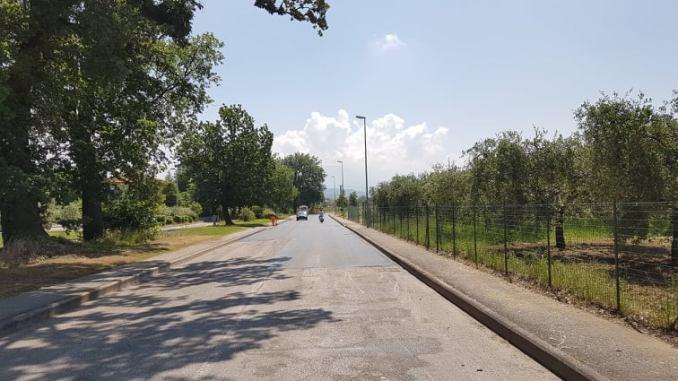 Riqualificazione via Lazzari in attuazione il secondo Piano Strade