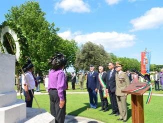 Commemorazione Liberazione a Rivotorto di Assisi 74esimo anniversario [Foto]