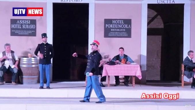 Assisi, stazione di Assisi, il capostazione e... by Rione Ponte Rosso