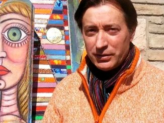 Luciano Busti, autore di tele ed arte figurative propone inedito studio di lavoro