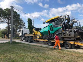 Rivotorto piano strade riqualificazione via di Bassano cominciati i lavori