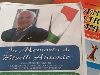 In tanti a Palazzo di Assisi per ricordare il Cavaliere Antonio Biselli