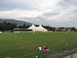 Angelana calcio squadra al lavoro in vista della nuova stagione