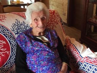 Terremoto, Nonna Peppina è tornata nella sua casetta di legno