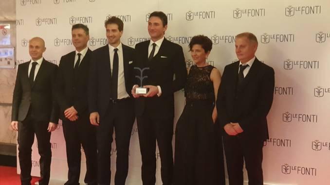 Manini Prefabbricati, successo ai Le Fonti Awards di Milano