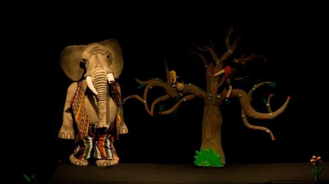 L'elefante smemorato e la papera ficcanaso Teatro Instabili Assisi