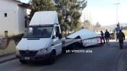incidente camion sottopassaggio