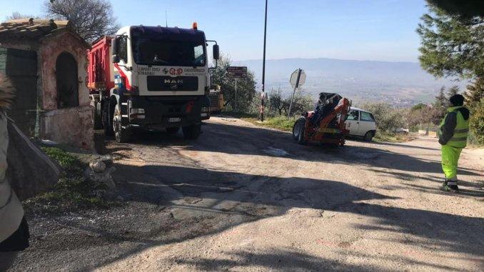Piano strade 2, lavori di asfaltatura a San Benedetto e a Palazzo