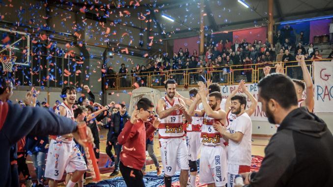 Basket, immensa Virtus Assisi, è prima in regular season!