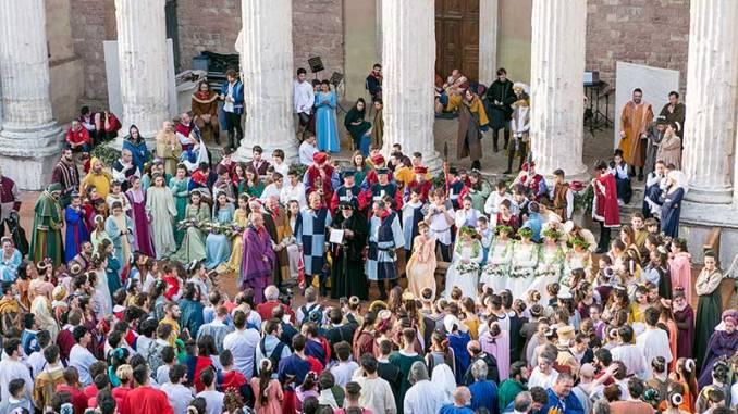 Calendimaggio di Assisi al via, gli eventi di avvicinamento alla Festa