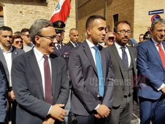 Ministro Di Maio il 25 Aprile ad Assisi, una targa in ricordo di Becchetti