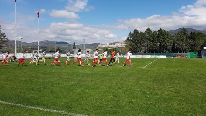 Angelana juniores si gioca promozione A1 in casa contro Orvietana