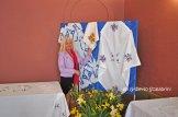 Lucia Smurra nella mostra dei ricami (3)