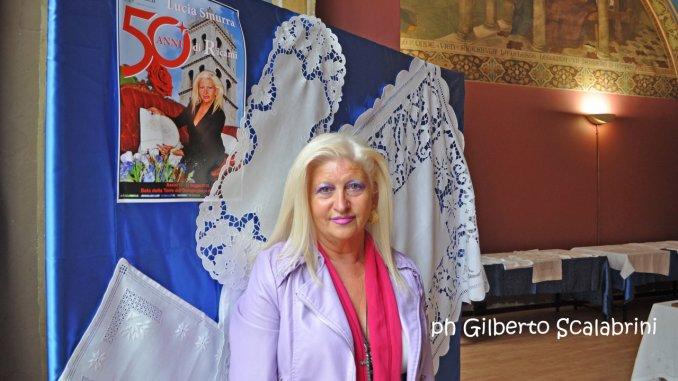 Lucia Smurra Di Tullio, mostra di 50 anni ricami ad Assisi