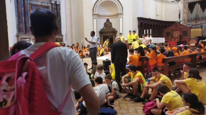 Gli oratori in Piazza ad Assisi, è mattinata di festa con il Grest