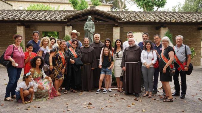 Assisi San Francisco collaborazione economica tra le città del gemellaggio