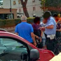 Incidente a Santa Maria degli Angeli, Ape e auto coinvolti, polizia locale sul posto