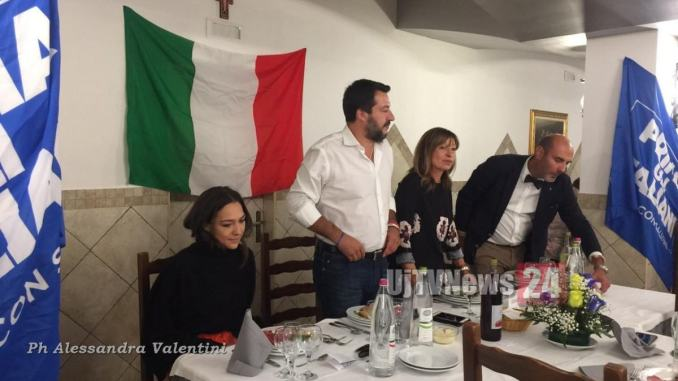 Stefano Pastorelli, Lega, la conquista dell'Umbria parte da Assisi
