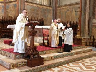 Vent'anni dalla ricostruzione della Basilica, discorso integrale custode Gambetti [VIDEO]