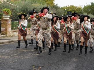 Raduno dei bersaglieri celebrata la memoria di Leone Maccheroni