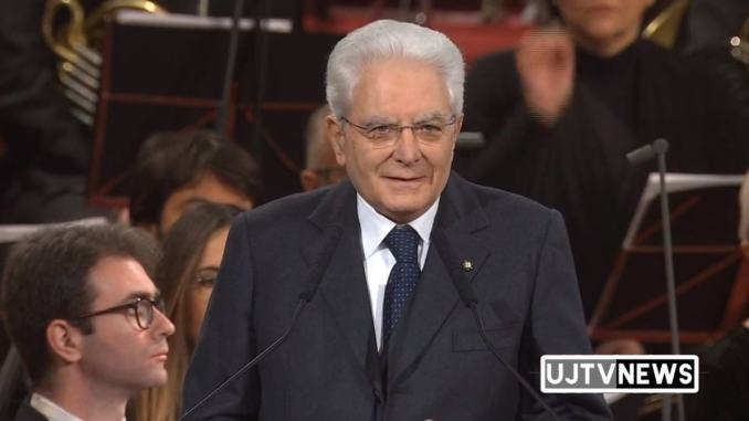 Lampada pace a Sergio Mattarella, il discorso integrale del Presidente