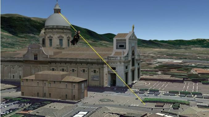 Assisi, la Befana dei Priori Serventi 2020 è la più alta d'Europa