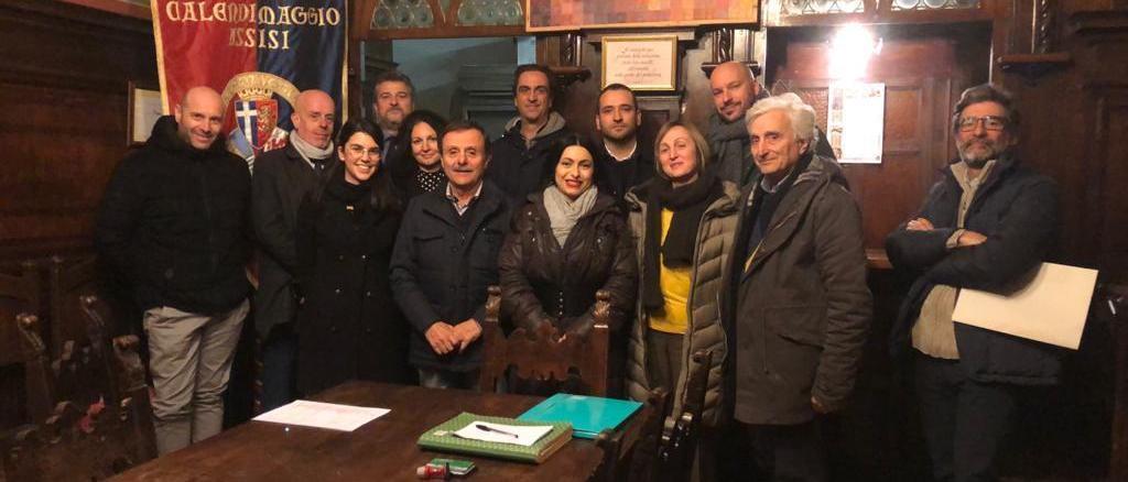 Insediato il consiglio direttivo dell'ente Calendimaggio di Assisi